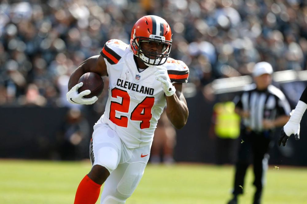 Image result for Nick Chubb baltimore