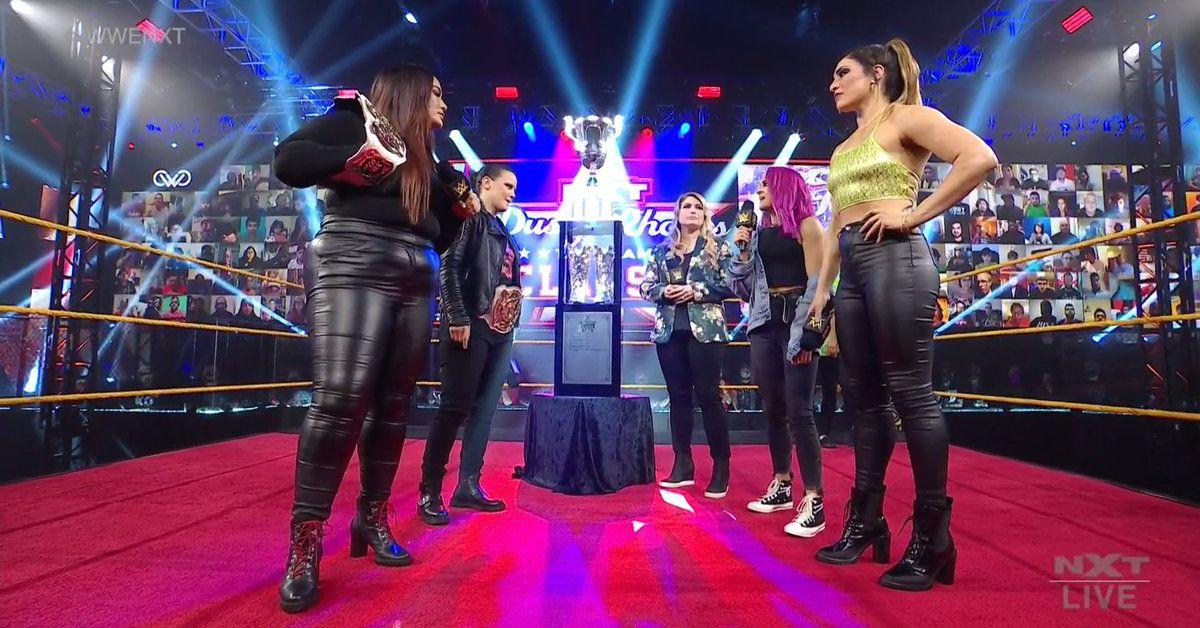 Grab some popcorn, Raquel González is gonna stick her boot in Nia Jax's hole on Mar. 3