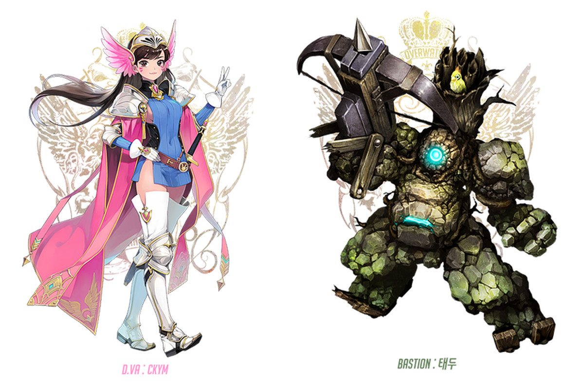 If Overwatch Characters Lived In Final Fantasy Polygon