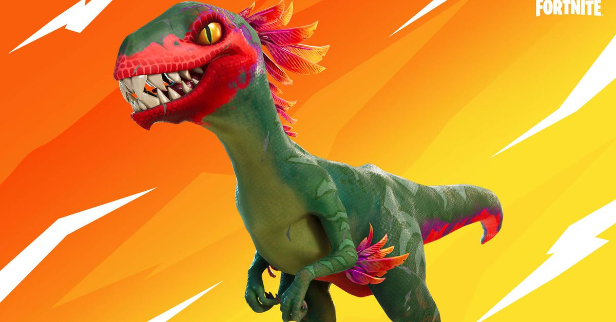 Fortnite's dinosaur eggs have hatched, and now raptors roam the island