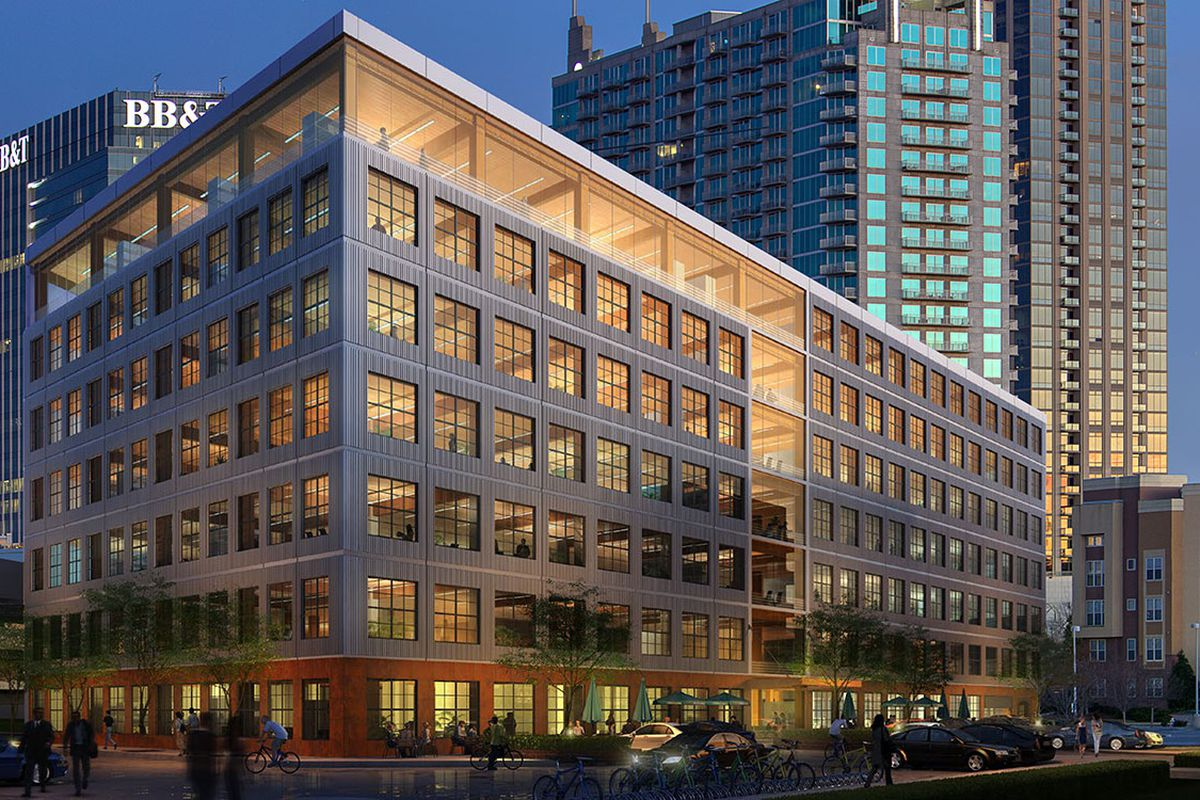Atlantic Station Plans Call For Three New Office Buildings