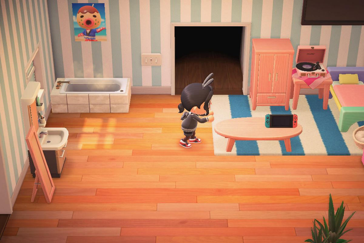 How to move and rotate furniture in Animal Crossing: New ... on Animal Crossing Room Ideas New Horizons  id=67453