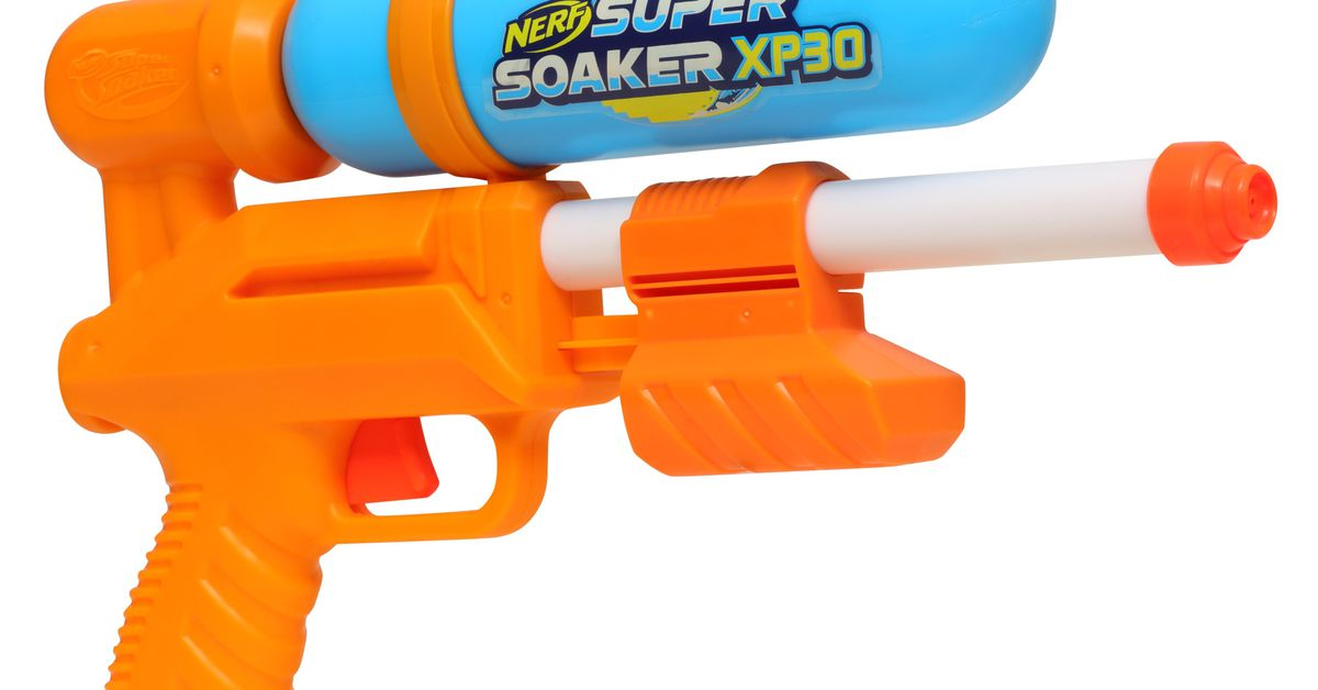 Two of Hasbro's remastered Super Soakers are being recalled