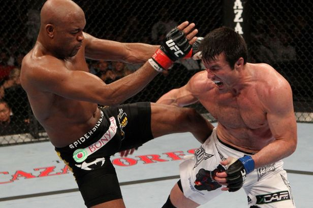 UFC 148 Judo Chop: Beating Anderson Silva - Bloody Elbow