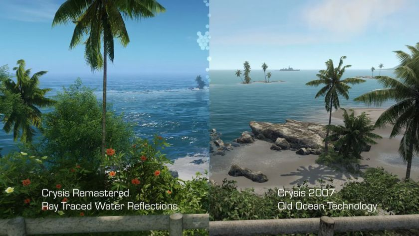 Crysis Remastered Comparison