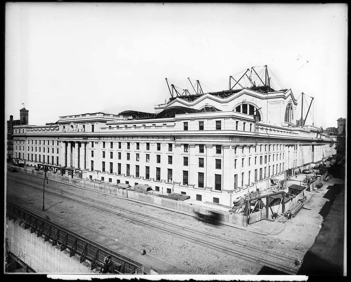 Old Penn Station Photos The History Of New York S