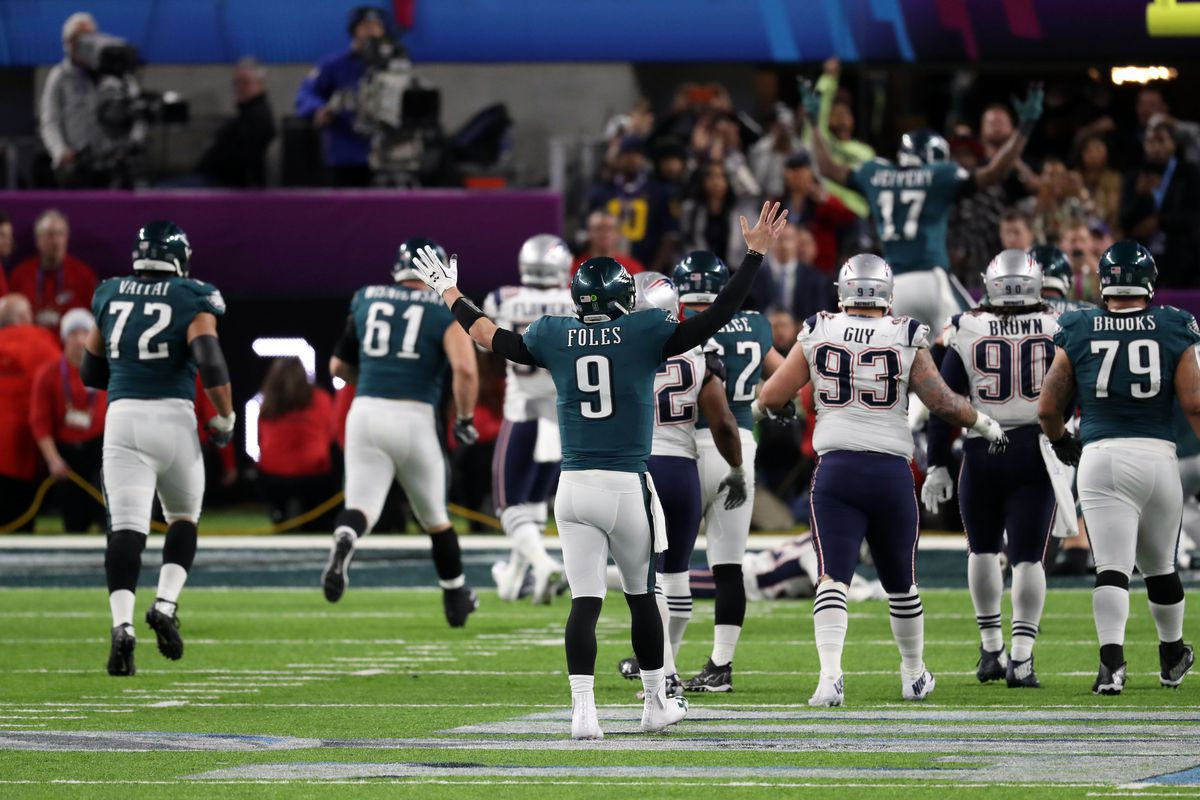 Super Bowl Eagles Fought Like Hell To Win Their 1st
