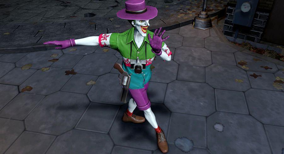 Catwoman Aquaman Joker Get Weird And Wet In Infinite