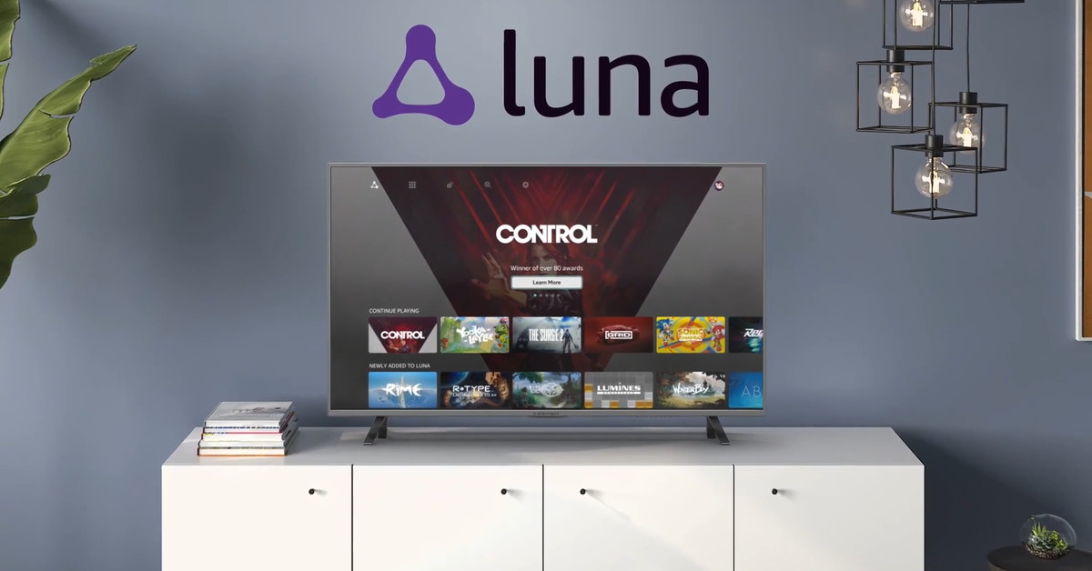 Amazon's Luna cloud gaming service is now available on Android