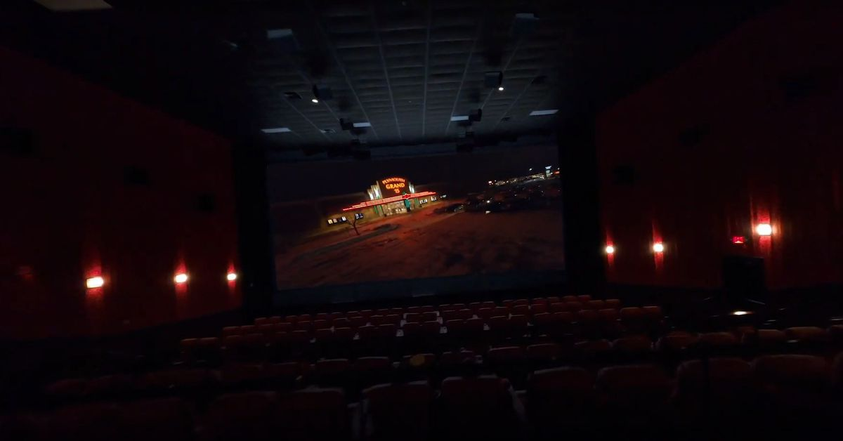 Go watch this drone video that will really make you miss movie theaters