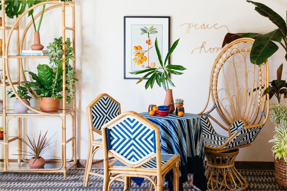 Rattan Woven Furniture From Ikea To Anthropologie Chairs