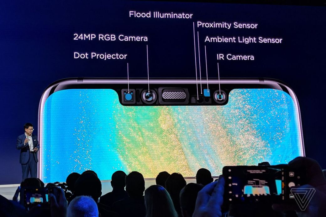 Huawei's Mate 20 Pro launch event