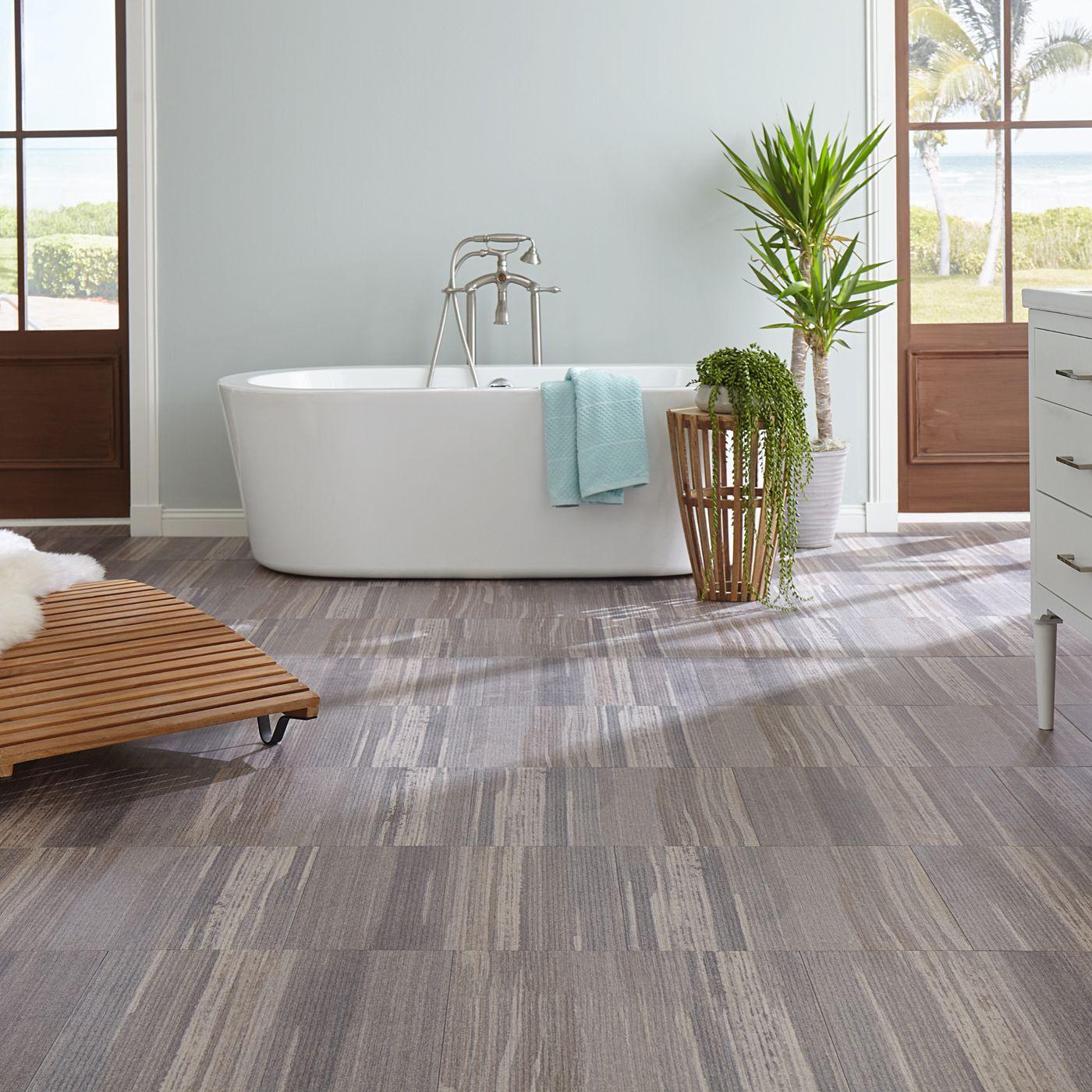best vinyl flooring for bathrooms