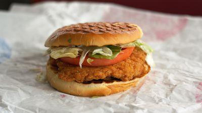 23. Crispy chicken sandwich at Dairy Queen