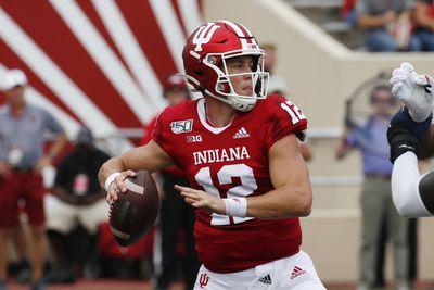 NCAA Football: Connecticut at Indiana
