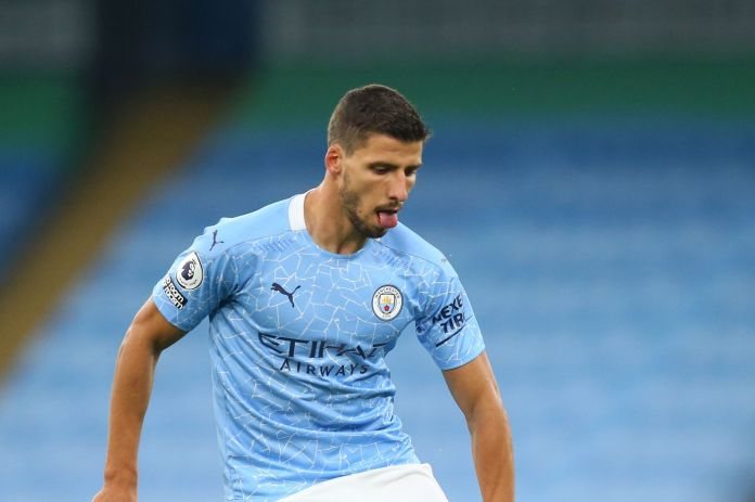 """Ruben Dias: """"I'm really happy to be here and to have the opportunity to play in this competition for a team like City."""" - Bitter and Blue"""
