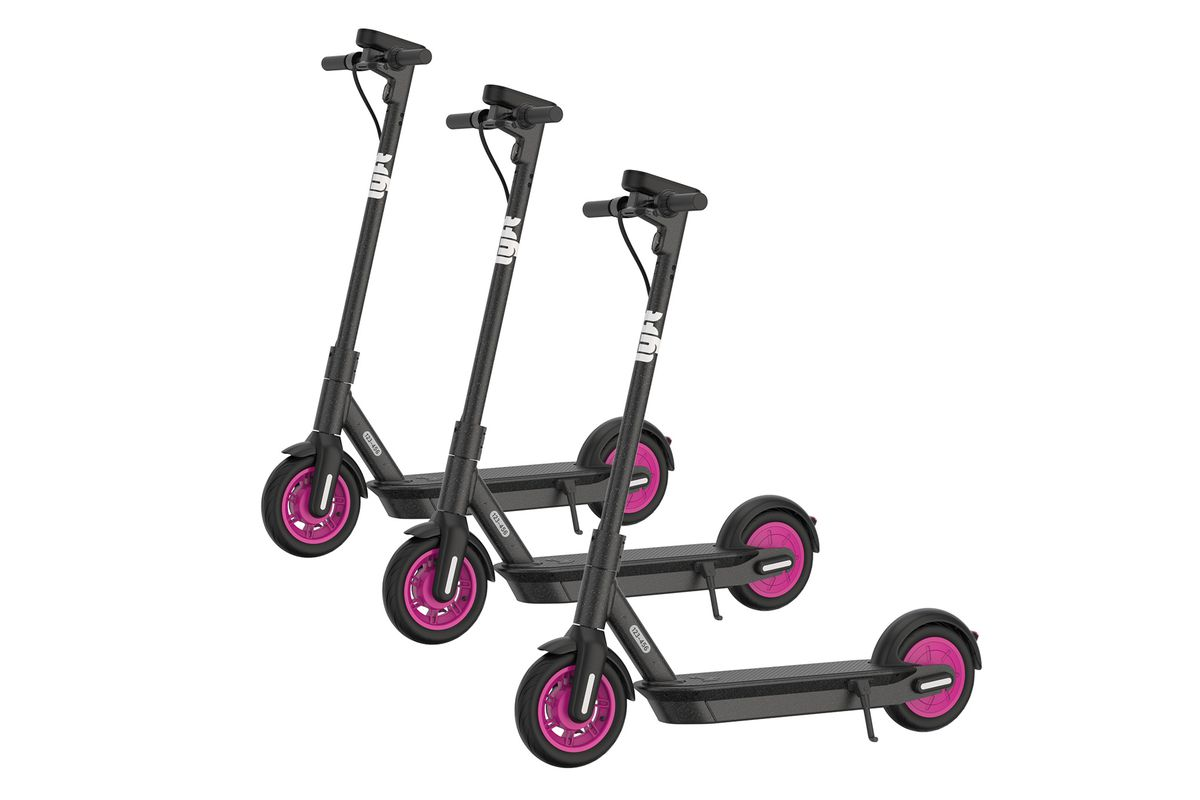 Lyft Introduces Pink Wheeled Scooter That It Says Is