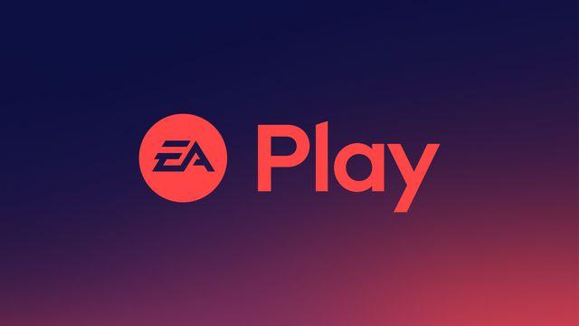 A logo for EA Play