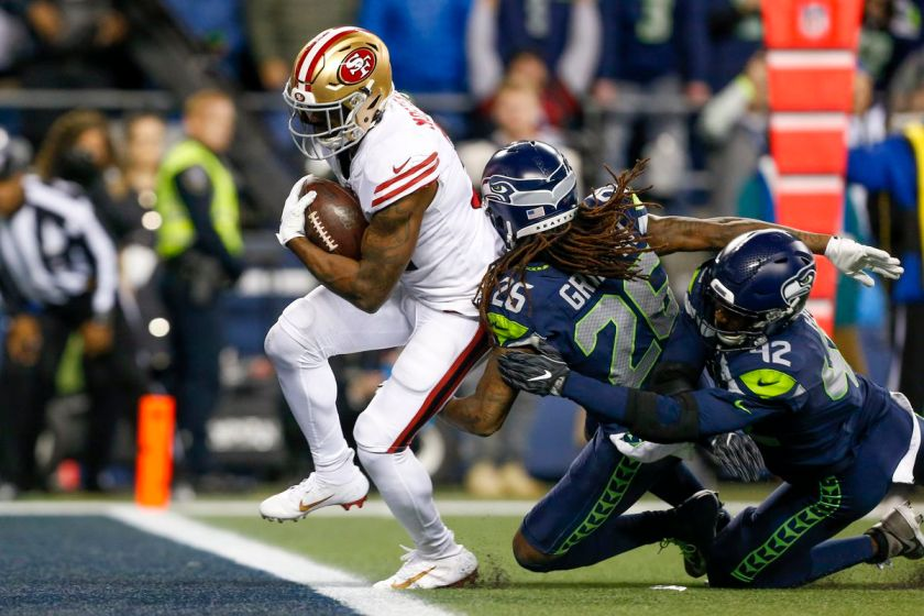 49ers win NFC West title with insane 26-21 victory over Seahawks - Field  Gulls