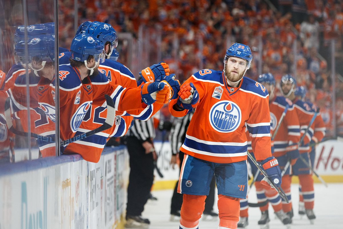 Leon Draisaitl Signs 8 Year 68 Million Contract With
