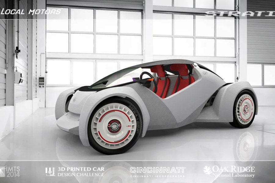 A 3D printed car is coming that stretches the boundaries of design     A 3D printed car is coming that stretches the boundaries of design