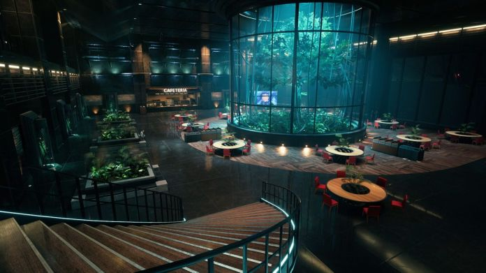 A look at an updated environment from Final Fantasy 7 remake