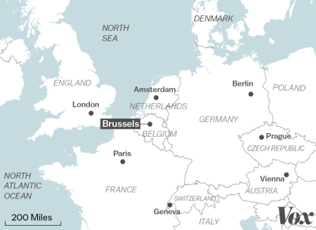 Image result for is Brussels in the netherlands