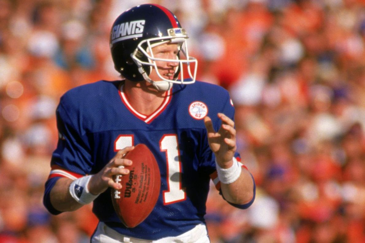 New York Giants Super Bowl moments: No. 7 -- Phil Simms' record-setting day  - Big Blue View
