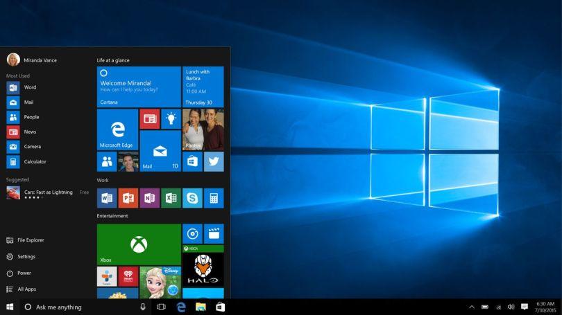 Visual history of Windows