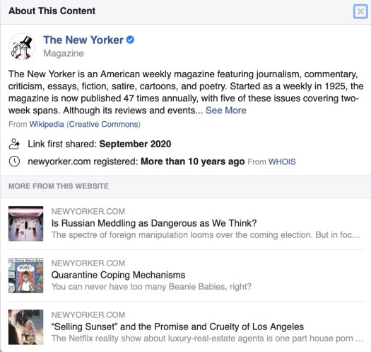 How to spot fake news on Facebook and Twitter before the 2020 election 6