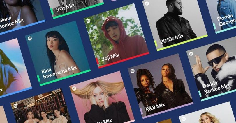 Spotify Mixes are new personalized playlists based on your favorite artists and genres