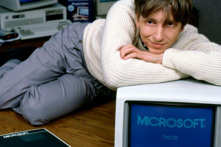 Bill Gates Portrait Session