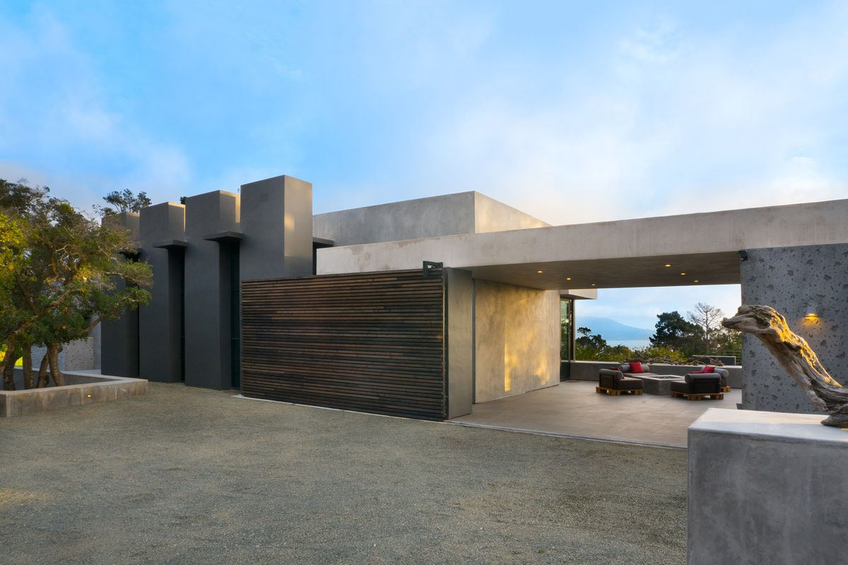 Concrete Beauty In Pebble Beach Asks $8.5 Million