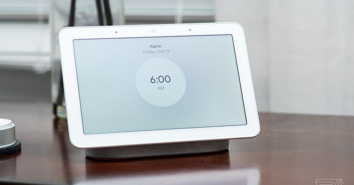 Google may be updating the Nest Hub by adding Soli gestures