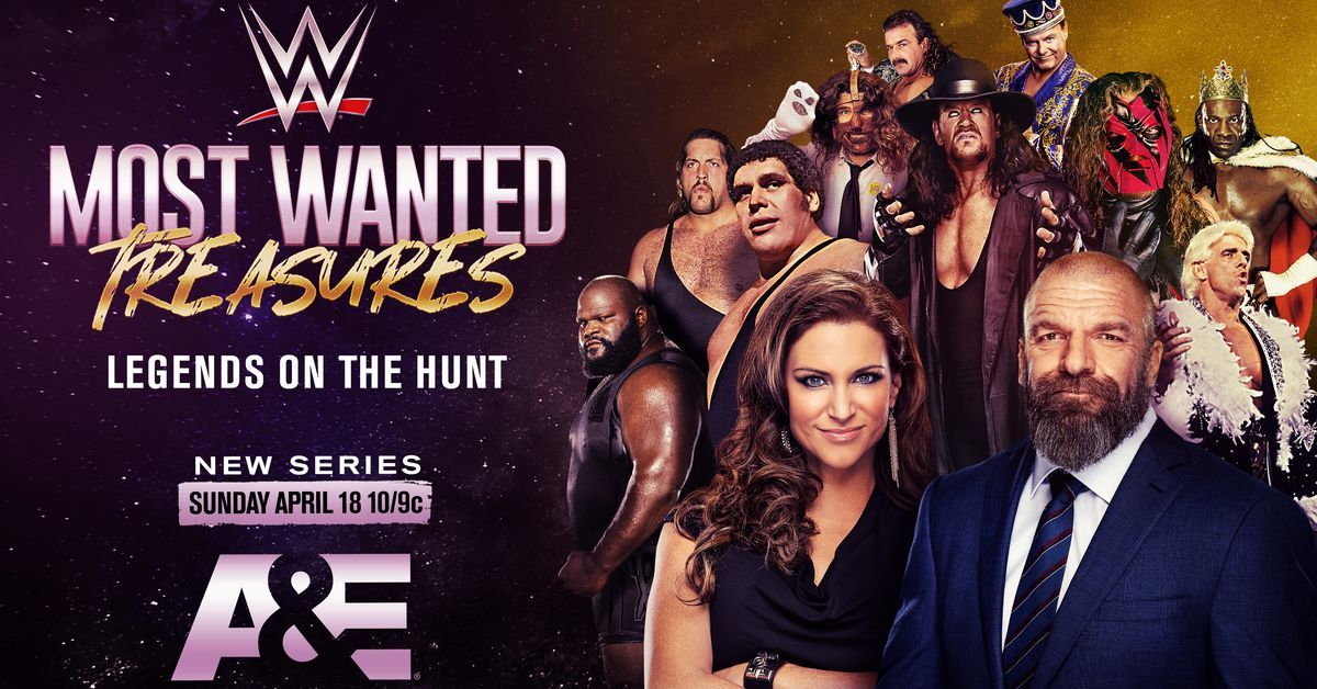 WWE, A&E reveal details for 10 weeks of wrestling programming