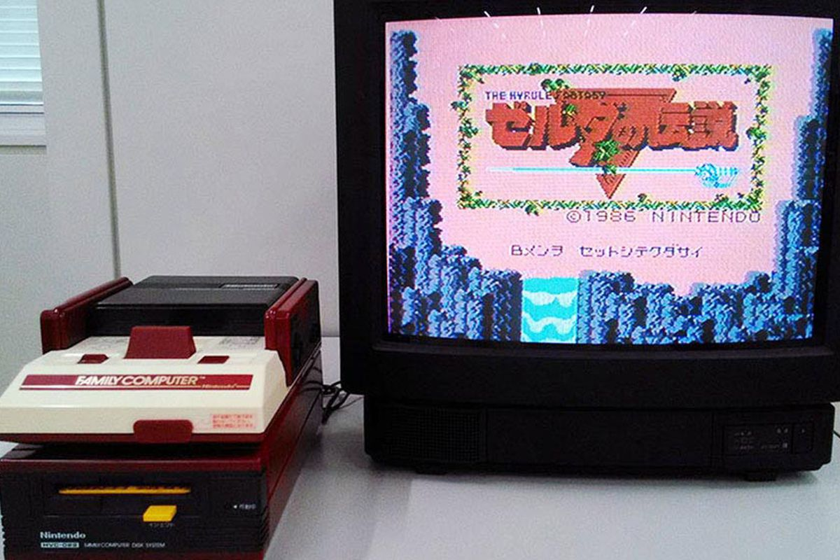 Nintendo Just Unboxed A 30 Year Old Famicom The Verge