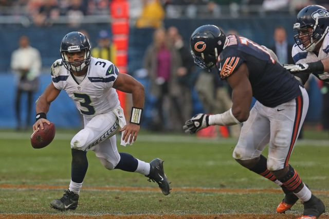 Russell Wilson's epic 2012 performance in Chicago put the Seahawks, Bears  on opposite paths - Field Gulls