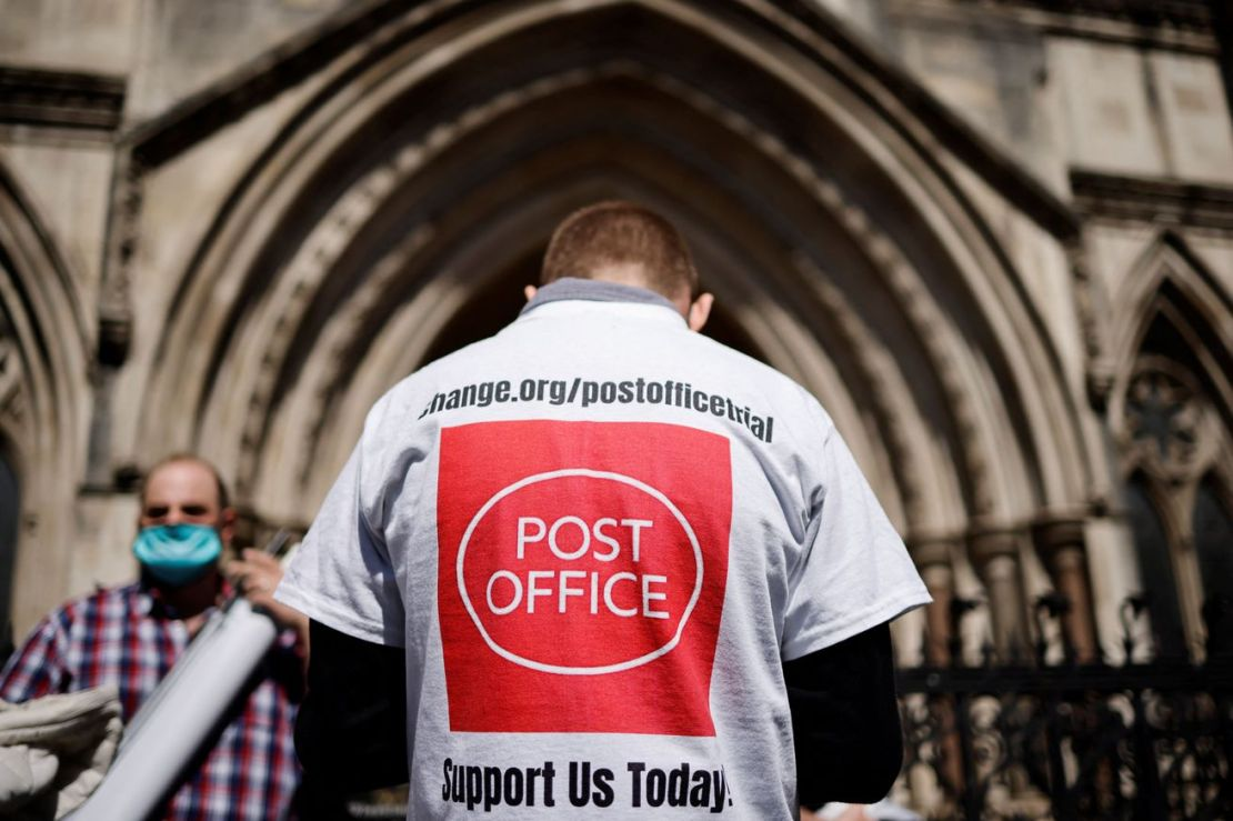 BRITAIN-JUSTICE-POST OFFICE