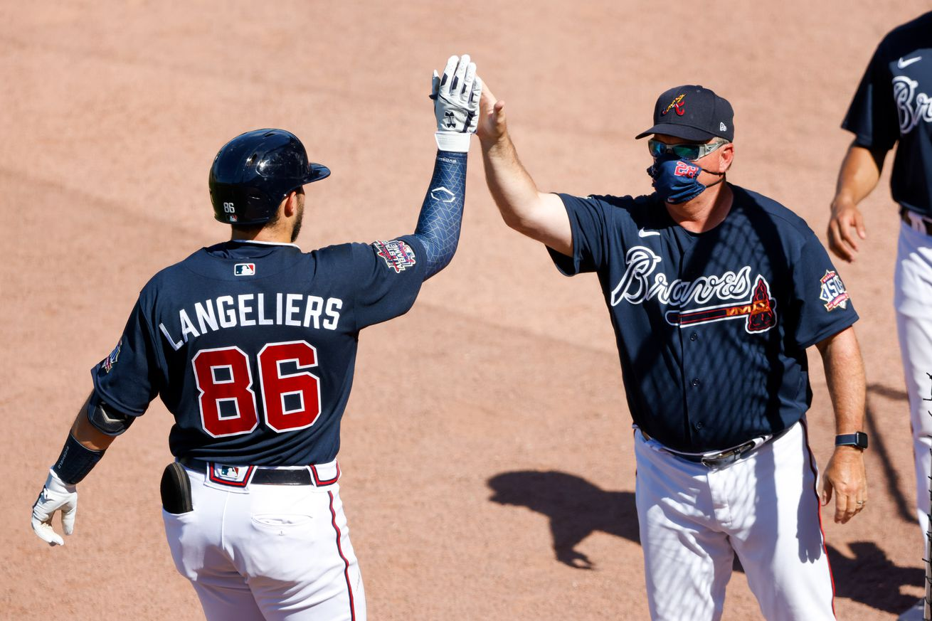 MLB: Tampa Bay Rays at Atlanta Braves