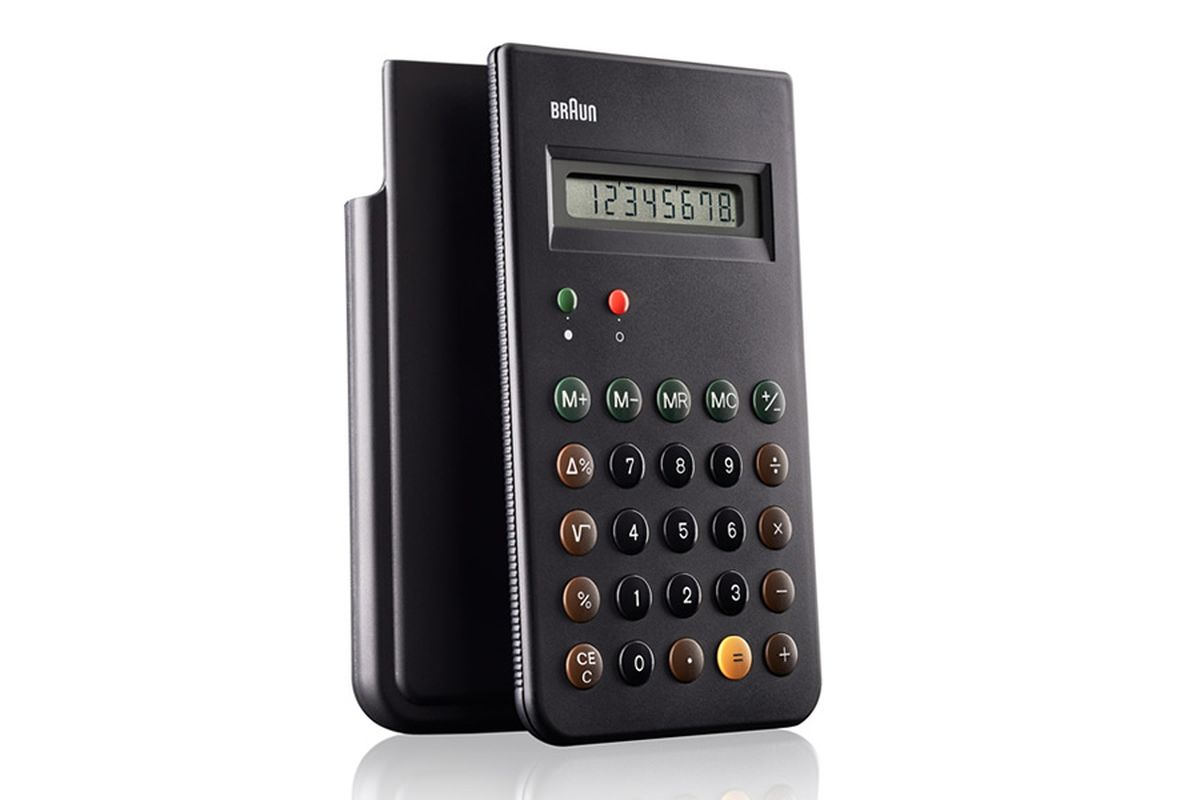 Iconicter Rams Designed Braun Calculator To Be Re