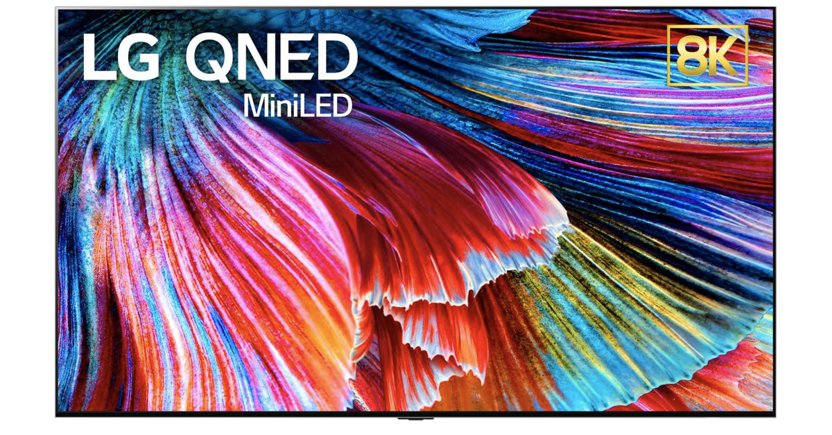 LG's new 'QNED' TVs will have up to nearly 30,000 tiny LEDs behind the screen