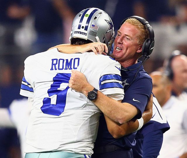 Tony Romo Felt Like The Cowboys Were In Good Hands When He Walked Away From Them