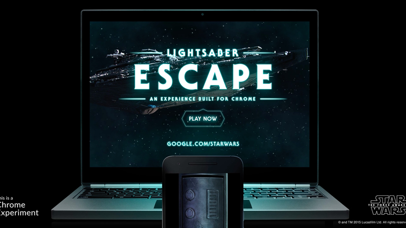 Google Made A Star Wars Game That Turns Your Phone Into A