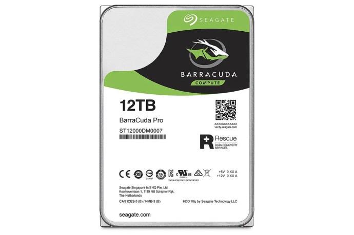 seagate 12 tb harddisk