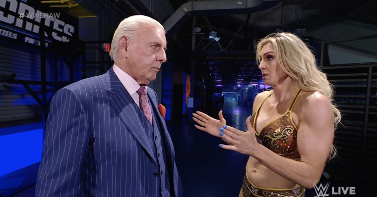 Ric Flair still wants to get back in the ring for WWE