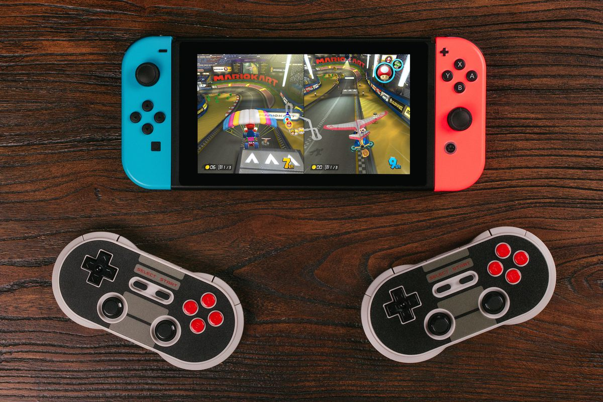 8bitdos NES30 Pro Controller Is An Almost Perfect Nintendo Switch Companion The Verge