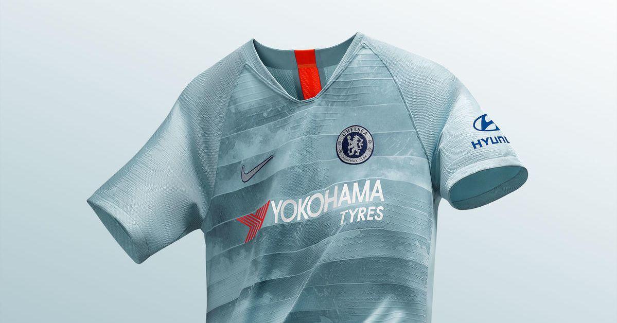 ... HAZARD 10 CHELSEA 1718 HOME Soccer Jersey Mens Color BLUE Size L  cheap  for sale 0dbe5 7f97d Chelsea launch rather unique 2018-19 third kit b88942478