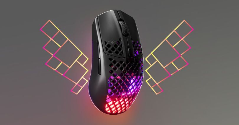 SteelSeries' new Aerox 3 gaming mice are lightweight and water-resistant
