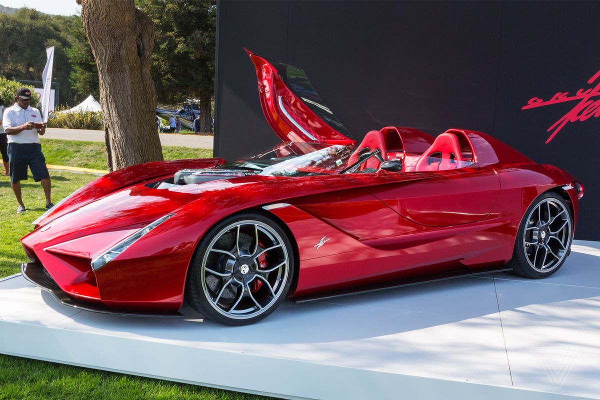 Americas most important luxury car show The Verge