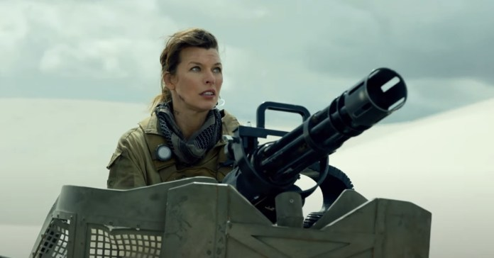 Milla Jovovich trades zombies for giant monsters in first full Monster Hunter trailer
